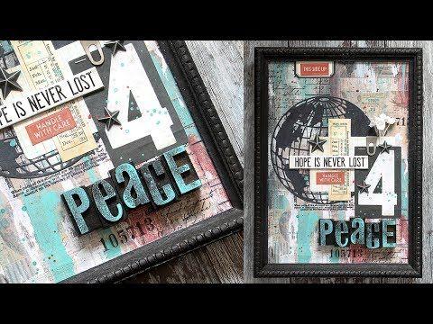 Hope For Peace: Mixed Medium with Shari Carroll - Simon Says Stamp Blog