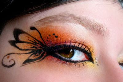 Fairy Eye Shadow: Eye Makeup, Halloween Makeup, Makeup Art, Makeup Ideas, Butterflies Eye, Fairies Makeup, Eyeshadows, Eye Make Up, Makeup Design