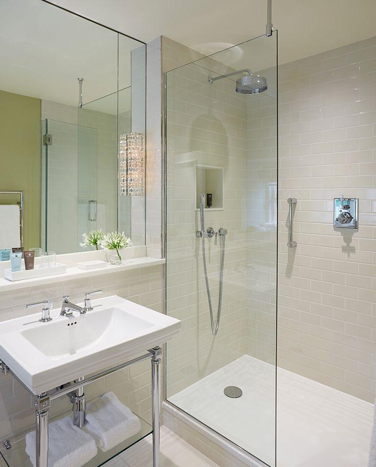 INTERIOR DESIGN ∙ Hotels ∙ Dormy House - Todhunter EarleTodhunter Earle  -  shower