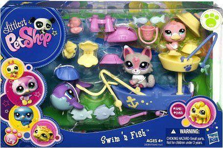 Les 337 meilleures images du tableau littlest pet shop sur for Swimming fish cat toy