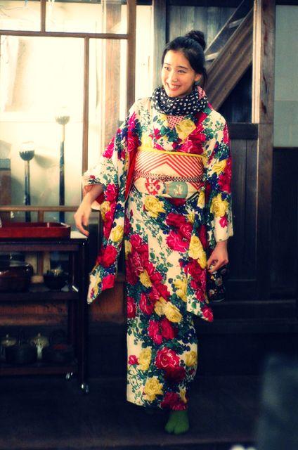 Aoi Yu in kimono