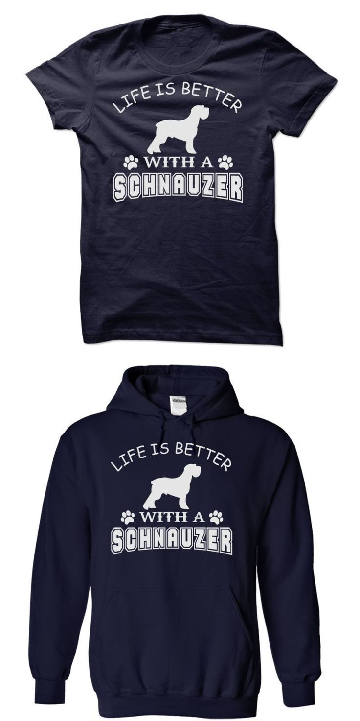 Dog Christmas T Shirt Life Is Better With A Schnauzer Shirt #alan #hangover #2 #dog #shirt #dog #rescue #t #shirt #im #a #dog #person #t #shirt #my #dog #ate #a #shirt