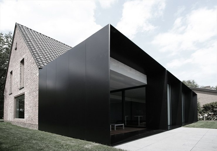 House DS by Graux & Baeyens architectenModern Architecture, House Extened, Baeyens Architecten, House Ds, Modern Interiors, Modern Home, Design Home, Graux, Black Boxes