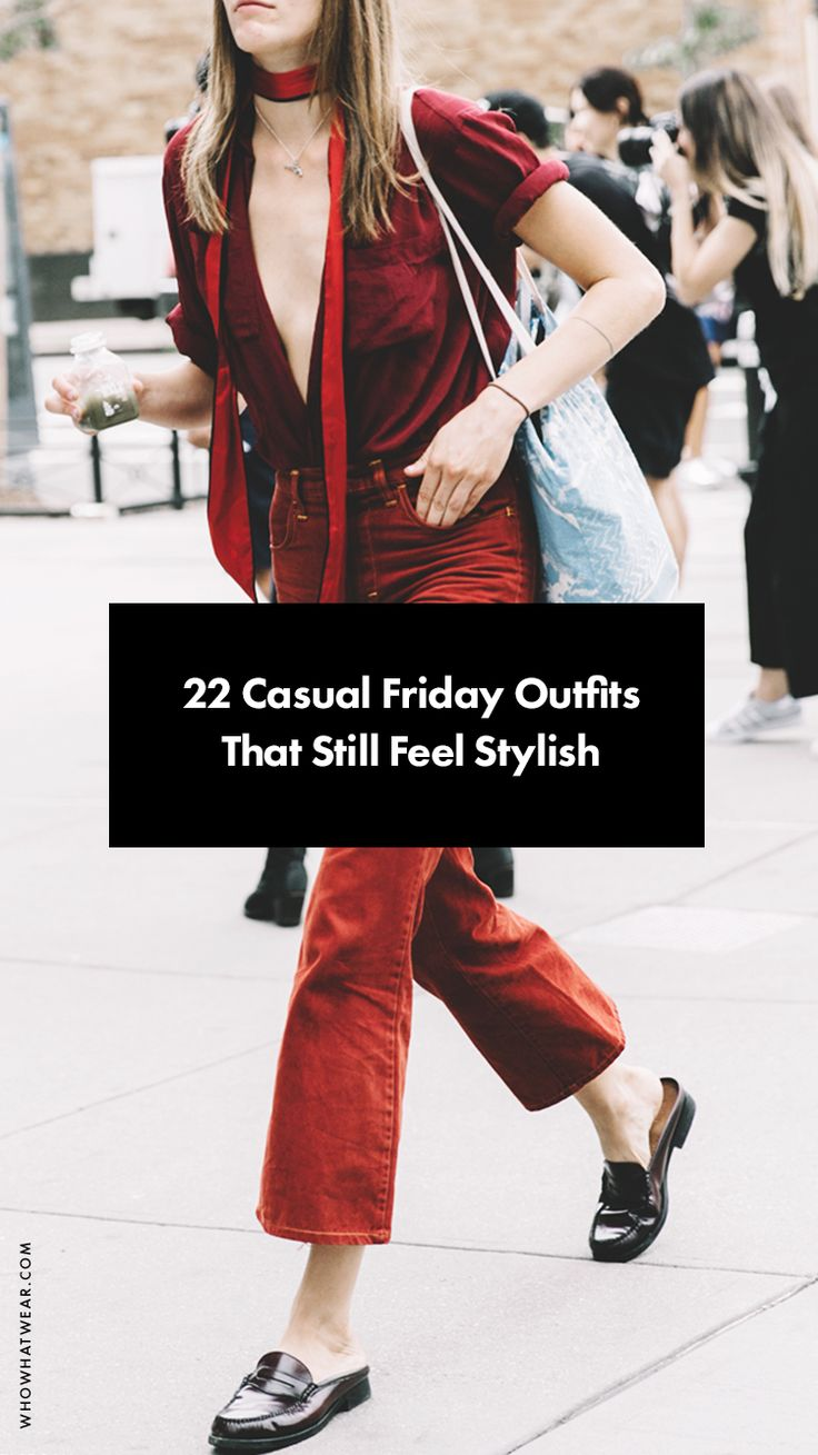 Stylish casual Friday outfits to steal