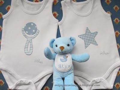 Mis joyas con la aguja - Camisetas y Labores de Personalizadas de Patchwork: Bebé