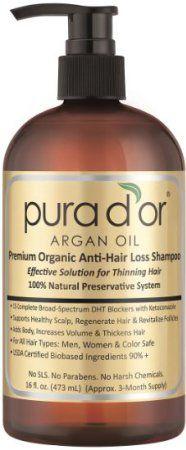 Pura d'or Gold Premium Hair Loss Shampoo