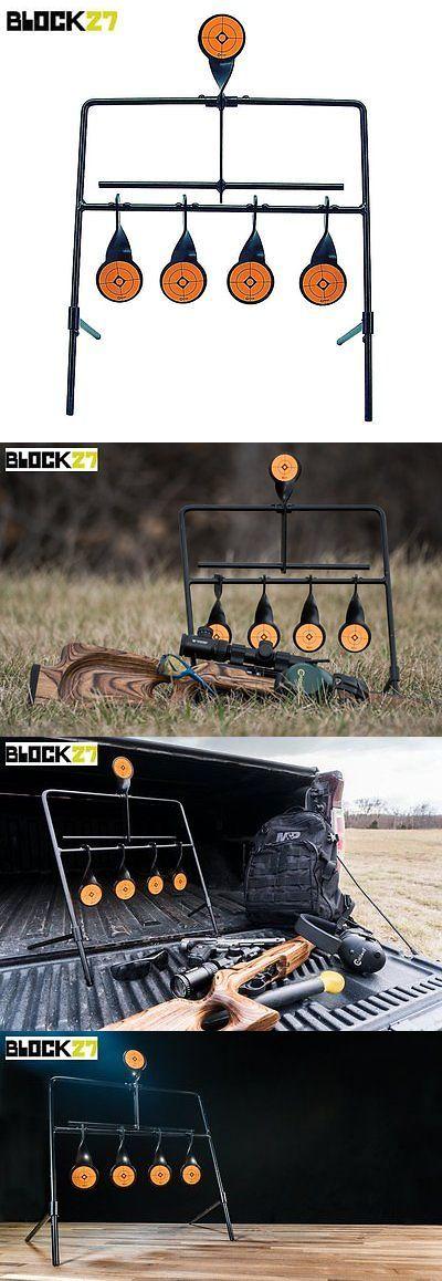 Targets 73978: Steel Shooting Resetting Target Metal Stand Rifle Pistol Gong Handgun Heavy Duty -> BUY IT NOW ONLY: $33.74 on eBay!
