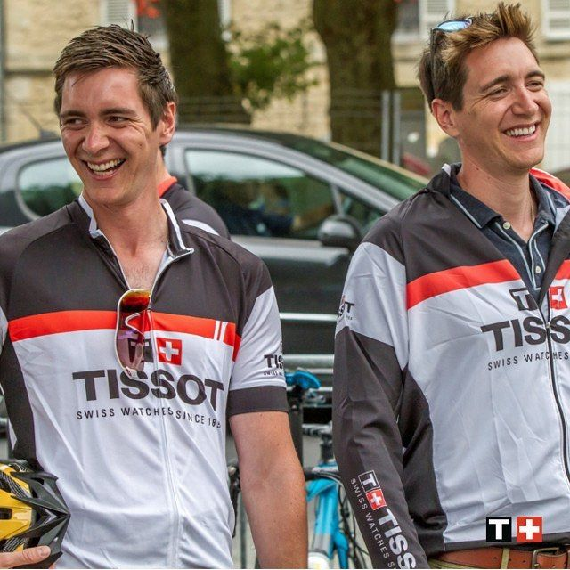"""Gefällt 1,743 Mal, 8 Kommentare - Swiss Watches since 1853 (@tissot_official) auf Instagram: """"Thank you @jamesphelps_pictures and @oliver_phelps for the great moments we had together at the…"""""""