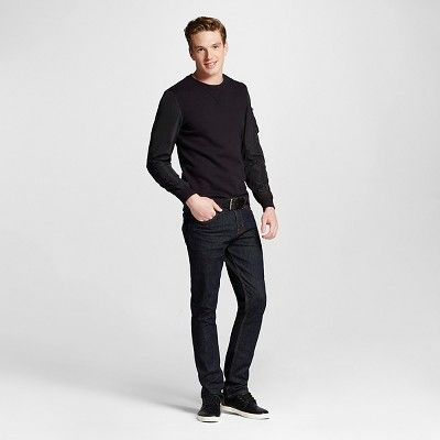 Men's Slim Jeans Dark Wash - Mossimo Supply Co. 30x34, Blue