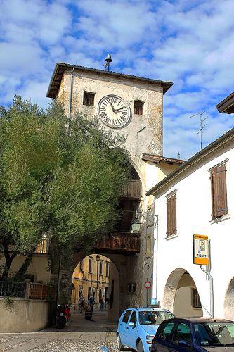 Torre dell'orologio Spilimbergo   #TuscanyAgriturismoGiratola