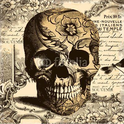 Vintage Skulls 91