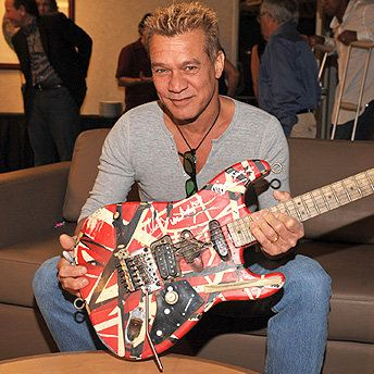Eddie Van Halen - one of the few guitarists to introduce a radical change in style but still remained uniquely identifiable in spite of the legion of imitators