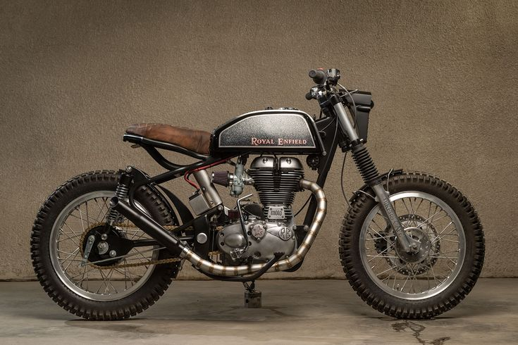 Desert Flower: möto Dubai's Custom Royal Enfield Bullet 500 - Bike EXIF