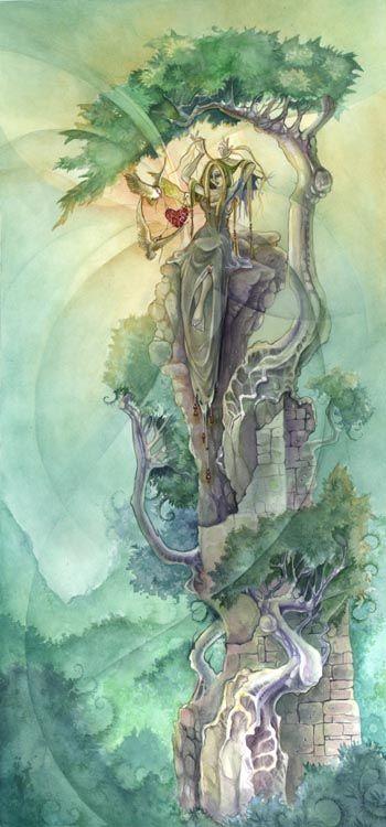 Stephanie Pui-Mun Law - Shadowscapes - Fantasy Art