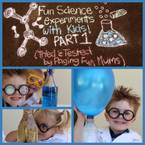 Adorable Little kids from Paging Fun Mums do some really cool Science Experiments!