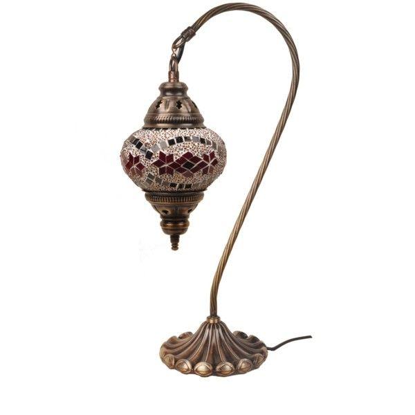 Sklenená lampa Fishing XI, 13 cm
