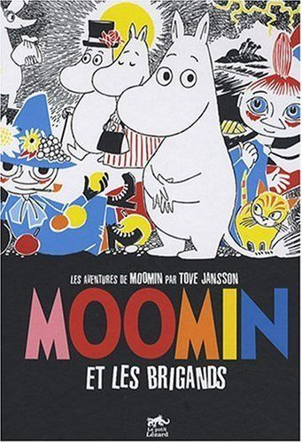 ♥ MOOMIN - this is the French cover of the first moomin newspaper strip collection. It's published in English by Drawn & Quarterly