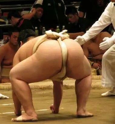 本当に可愛い学生相撲部のお尻