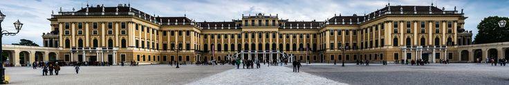 Schönbrunn Palace - Schönbrunn Palace - A UNESCO site Panoramic view