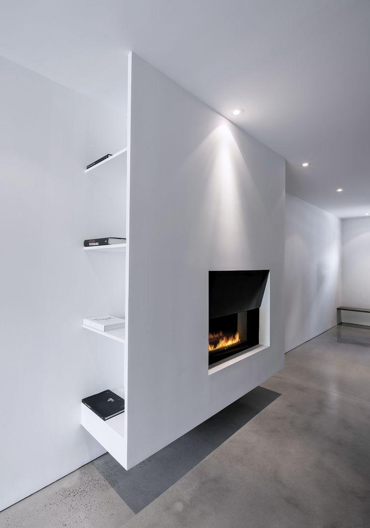 spot etagere derrière meuble et façade suspendue