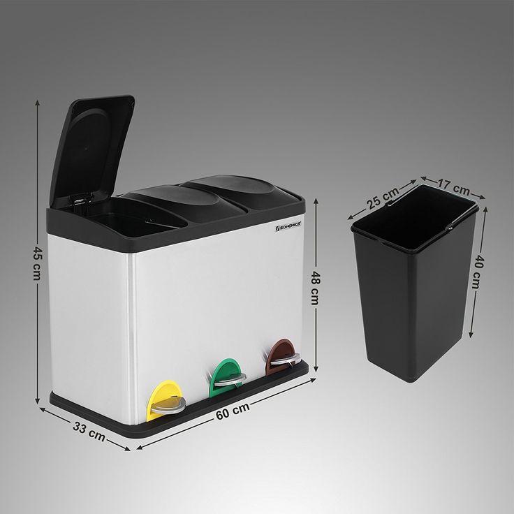 25+ ide terbaik Mülltrennsystem küche di Pinterest Mülltrennung - abfallbehälter für die küche