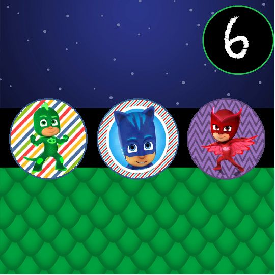 Best Tristans Th PJ Masks Images On Pinterest Birthdays - Pj masks invitation template free