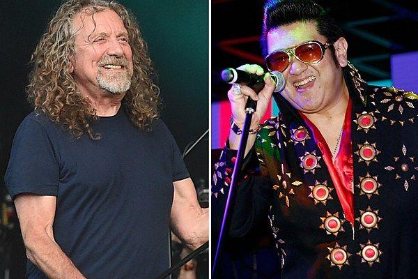 That Time Robert Plant Lost Karaoke to an Elvis Impersonator  ||  Robert Plant recalled the time he lost a karaoke battle to an Elvis impersonator in March 2018. http://ultimateclassicrock.com/robert-plant-karaoke-elvis/?utm_campaign=crowdfire&utm_content=crowdfire&utm_medium=social&utm_source=pinterest