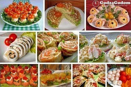 Рецепты простых закусок на Новый год Петуха 2017 - http://godzagodom.com/zakuski-na-novyj-god-2017-retsepty-zakusok/
