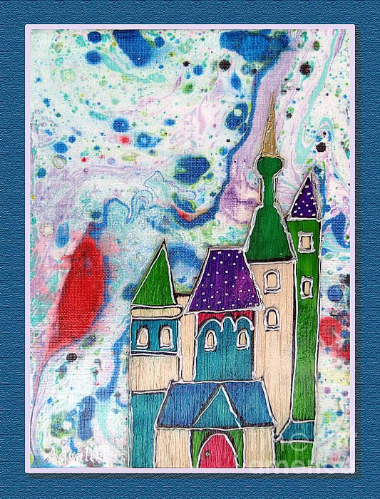 Amazing artwork by Aqualia available on Fineartamerica. Choose the castle of your soul.