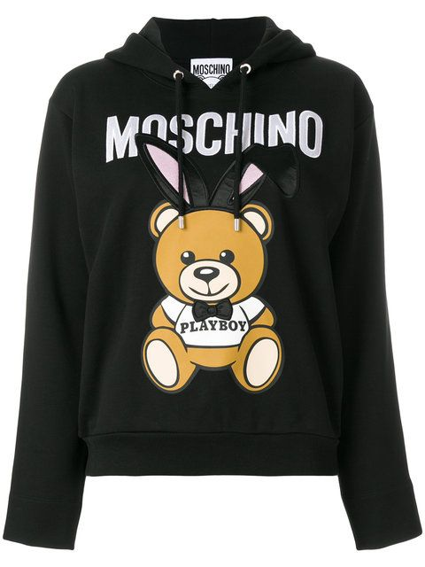 80a1bf36890 MOSCHINO Playboy toy hoodie.  moschino  cloth   Moschino Bear