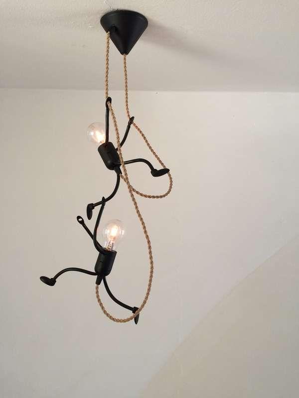 Lamp Lampje, uniek en sfeervol handgemaakt design - Foto's KlimLampje Duo