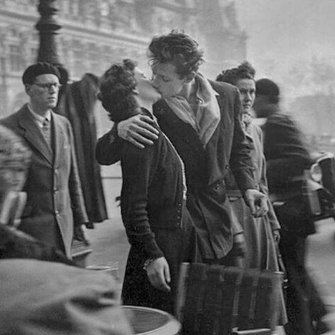 El beso, de Robert Doisneau