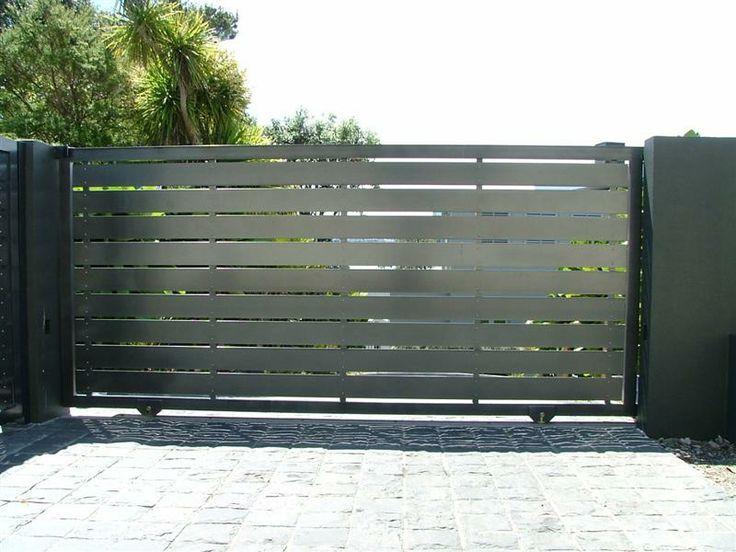 Metal gate.