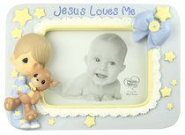 Precious Moments Photo Frame: Boy, Jesus Loves Me