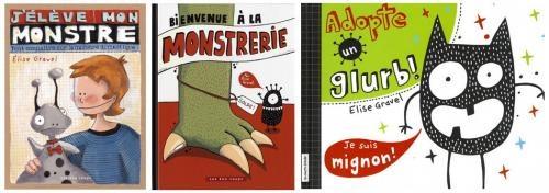 Bienvenue à la Monstrerie Mes livres: pistes d'exploitation | Elise Gravel