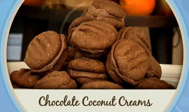 Chocolate Coconut Creams : Food : The Home Channel