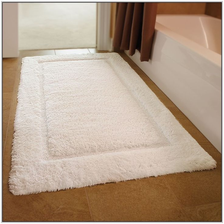 Type Of White Long Bathroom Rug Luxury bath rugs