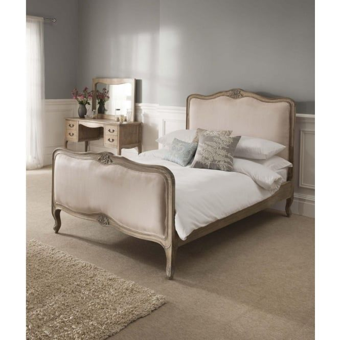 Montpellier Blanc Antique French Bed (Size: Double) + Mattress   Bundle  Deal @ Homes Direct Buy Elegant French And Venetian Furniture At UKu0027s  Lowest Prices.