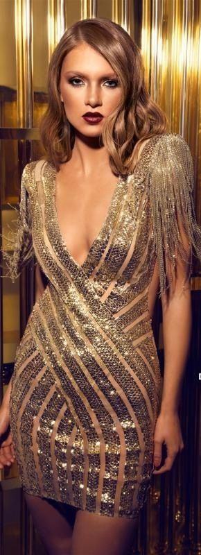 Shimmering Gold Fashion♥✤ | KeepSmiling | BeStayClassy