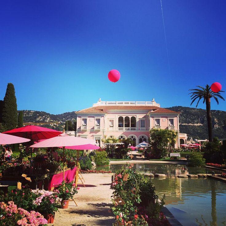 Le soleil brille ce matin sur Saint-Jean-Cap-Ferrat : début de la 2e journée de la Fête des Roses et des Plantes. Découvrez le programme et la liste des exposants sur http://www.villa-ephrussi.com. #RosesEphrussi #fetedesroses #VillaEphrussi #VillaEphrussideRothschild #SaintJeanCapFerrat #rose #jardin #fleurs #culturespaces