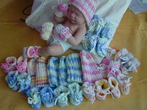 tricots pour prématurés