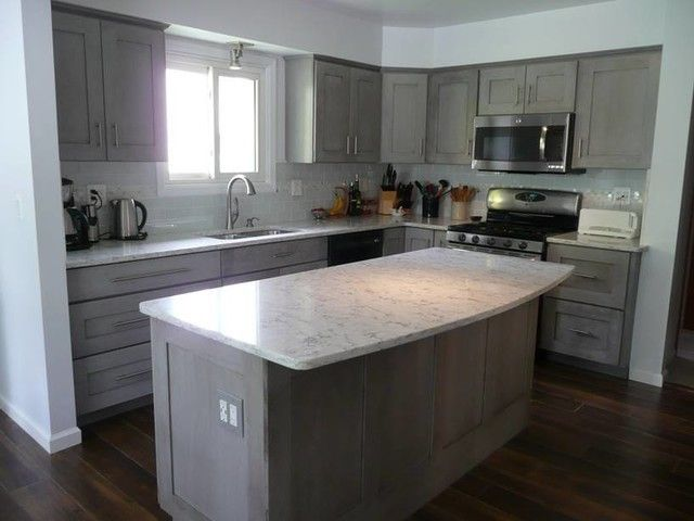 White Marble Look Kitchen Quartz Countertops Ideas. Engineered Stone Man Made  Countertops Are Non Porous, No Maintenance, And They Do Not Need Sealing.