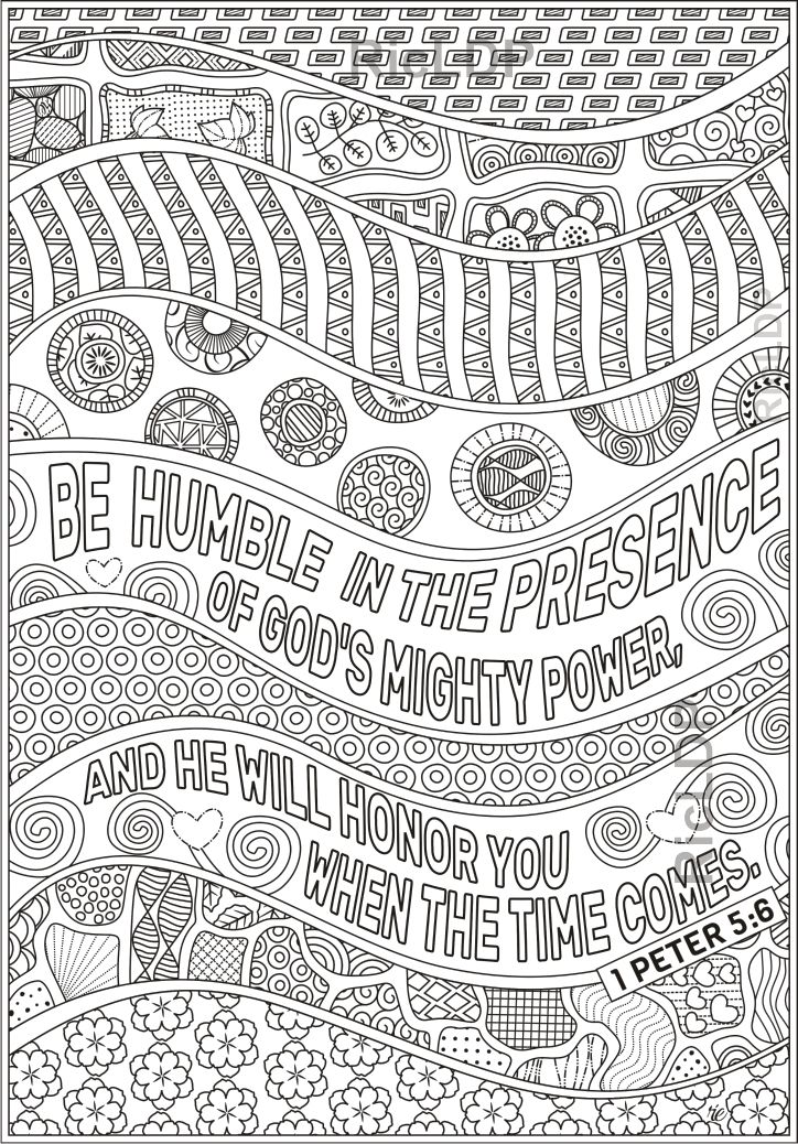 5 Bible Coloring Pages Set 2 Bible Coloring Pages Bible Coloring 1 Peter