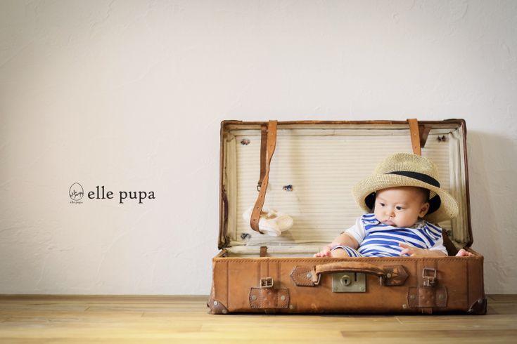 お子さま成長記録*スタジオ撮影 at elle pupa |*ウェディングフォト elle pupa blog*|Ameba (アメーバ)