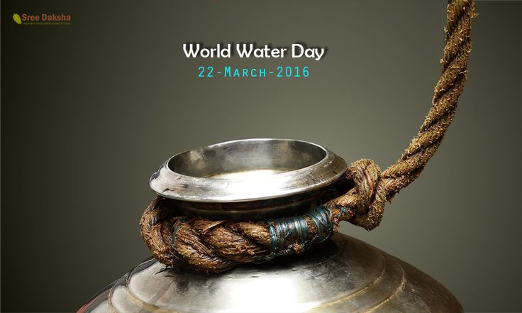 Wherever you are, whoever you are, you rely on water Stand Up For Water, its #WorldWaterDay!