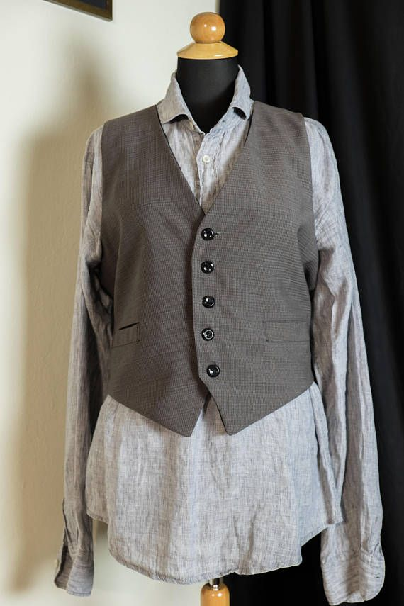 Hand made waistcoat vintage style  for men and women