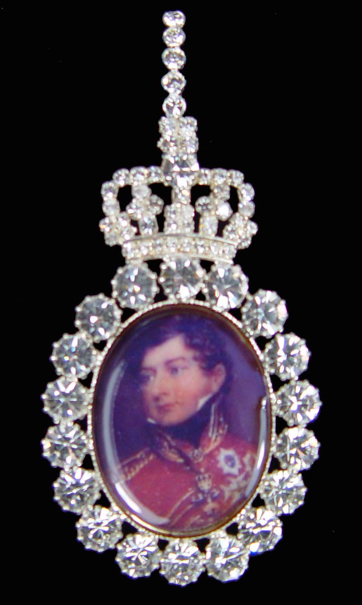 It is the tradition for most royal families. Family orders are a personal gift of a Sovereign and are given to female members of the immediate family.    In Great Britain, this custom was introduced by King George I, the first of the Hanoverian monarchs.    Until the end of Queen Victoria's reign the Order consisted of a cameo miniature set in diamonds. Edward VII introduced its present form of a portrait which was painted on ovory.