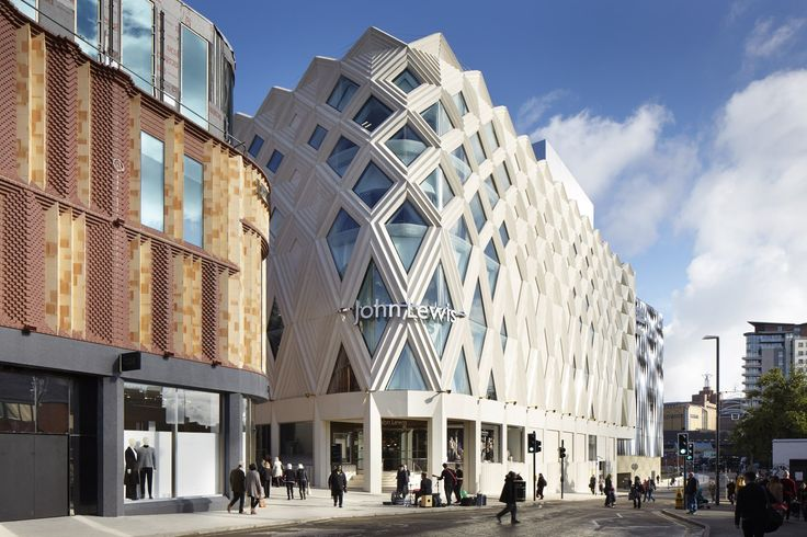 Completed in 2016 in Leeds, United Kingdom. Images by Jack Hobhouse               . The brief for the Victoria Gate masterplan was to design a new, vibrant, key urban block in Leeds city centre which provided retail and leisure uses...