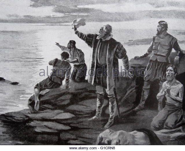 Francisco Pizarro González (1471 – 1541) Spanish conquistador who conquered the Incan Empire. - Stock Image