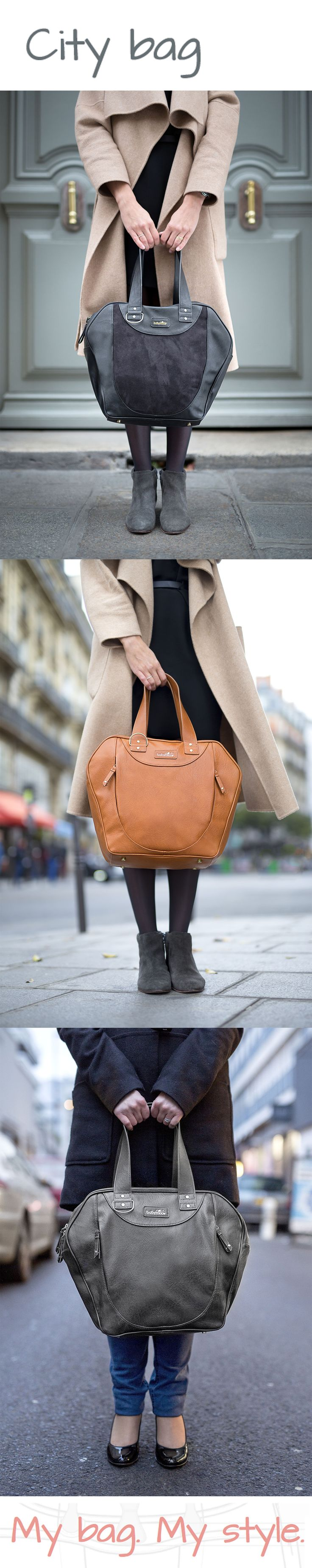 City Bag #Changing Bag #Babymoov #MyBagMyStyle #FashionMum #elegant #look #ItBag
